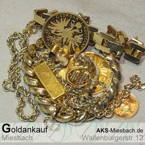 Gold Ankauf zu fairen Preisen: Zahngold, Goldbarren, Golduhren,...