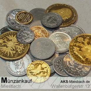 Neben Goldanlagemünzen wie Krugerrand, Maple Leaf und Philharmoniker kaufen wir auch Silbermünzen, Sammlermünzen, antike Münzen & Kursmünzsätze.