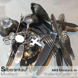 Zusätlich zu Silberbarren & Münzen können Sie an uns auch Silberbstecke und versilberte Gegenstände verkaufen.